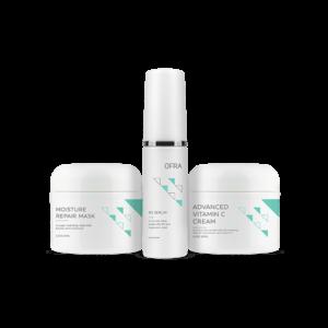 Zestaw pielęgnacyjny do skóry suchej Dry Skin Solution Trio