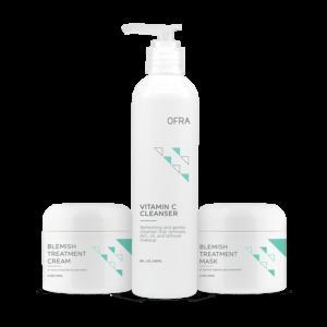 Zestaw kosmetyków do pielęgnacji cery problematycznej Problem Skin Solutrion Trio